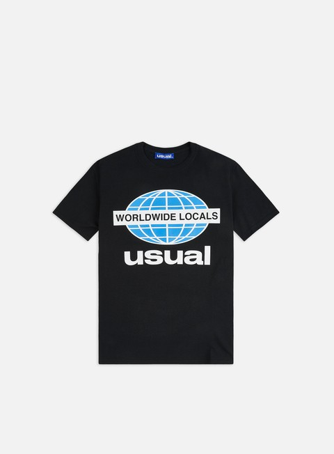 Outlet e Saldi T-shirt a Manica Corta Usual Worldwide Locals OG T-shirt