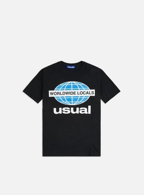 Short Sleeve T-shirts Usual Worldwide Locals OG T-shirt