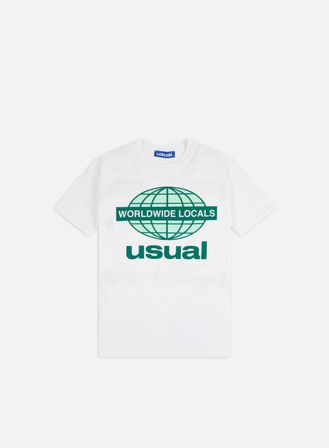 Outlet e Saldi T-shirt a Manica Corta Usual Worldwide Locals OG T-shirt
