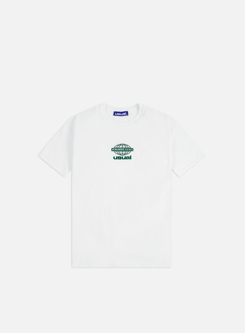 T-shirt a Manica Corta Usual Worldwide Locals Tag T-shirt