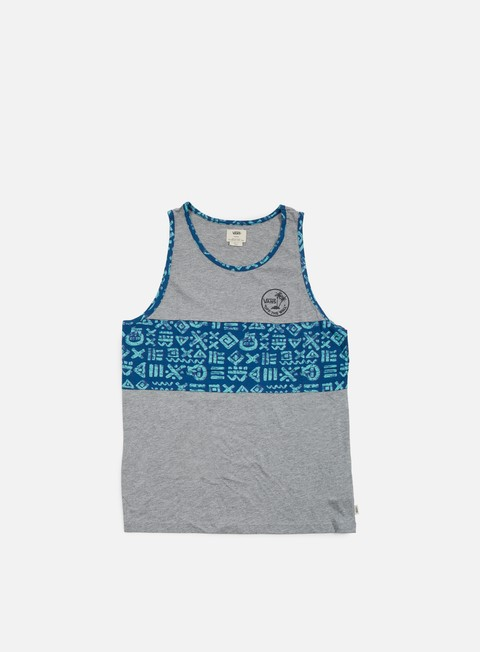 t shirt vans afton tank top concrete heather