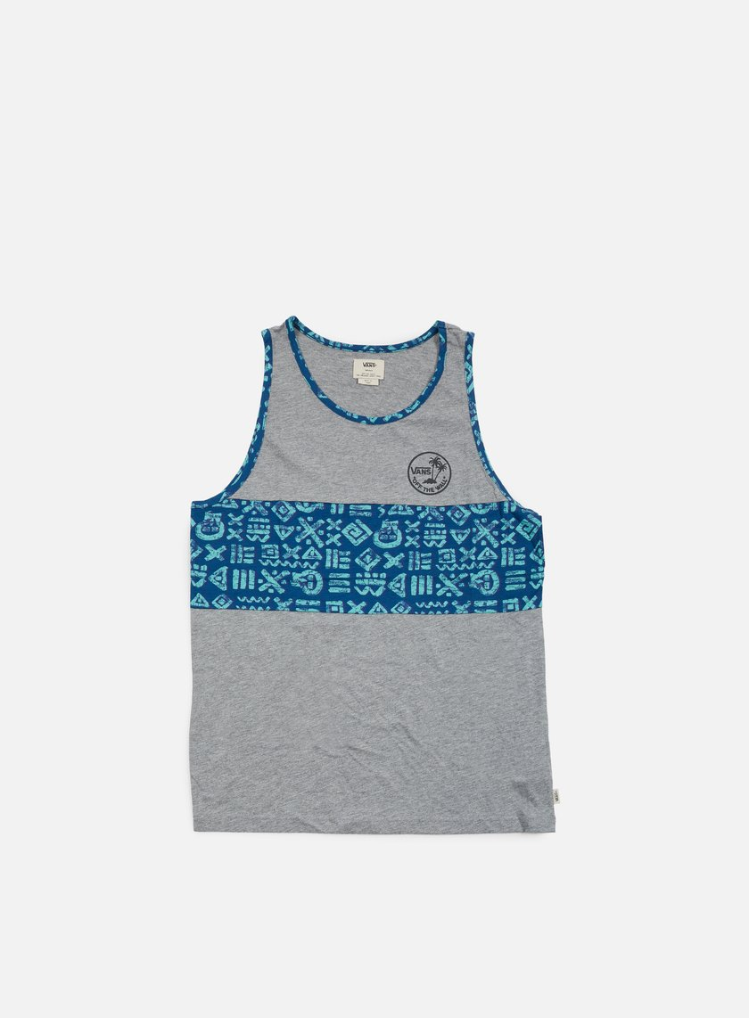 Vans - Afton Tank Top, Concrete Heather