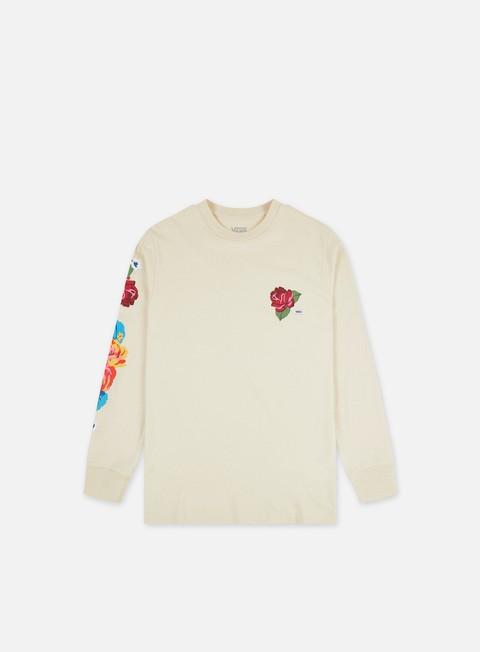 Long Sleeve T-shirts Vans Anaheim Needlepoint Floral LS T-shirt