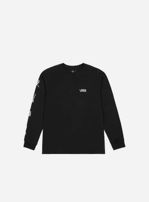 t shirt vans boneyard ls t shirt black