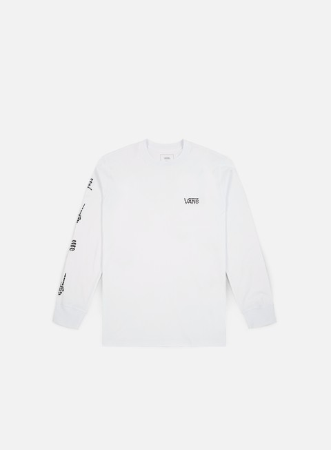 t shirt vans boneyard ls t shirt white