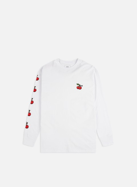 Long Sleeve T-shirts Vans Cherries LS T-shirt