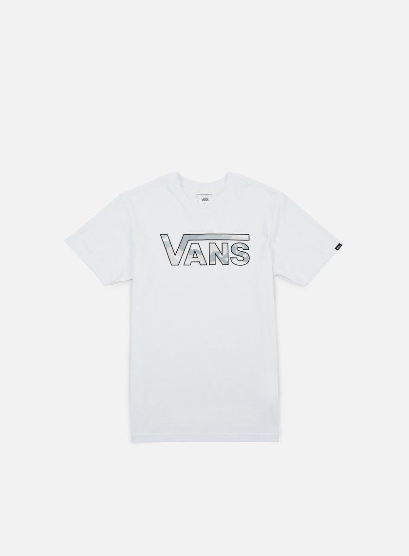 Vans - Classic Logo Fill T-shirt, White/White Camo