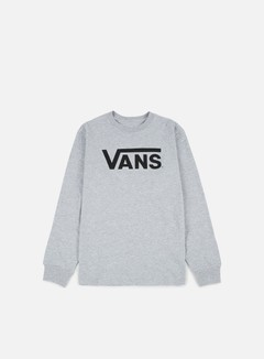 Vans - Classic LS T-shirt, Athletic Heather/Black