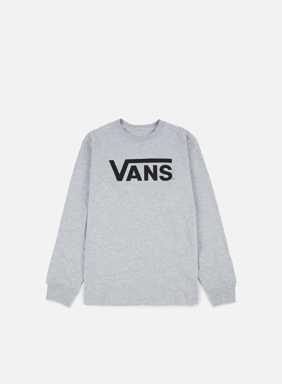 Vans - Classic LS T-shirt, Athletic Heather/Black