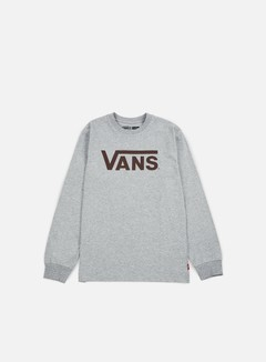 Vans - Classic LS T-shirt, Athletic Heather/Port Royale