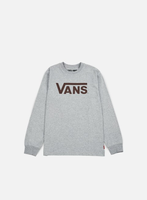 t shirt vans classic ls t shirt athletic heather port royale
