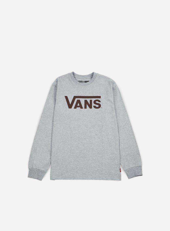 Vans - Classic LS T-shirt, Athletic Heather/Port Royale