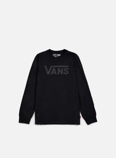 Vans - Classic LS T-shirt, Black/Black