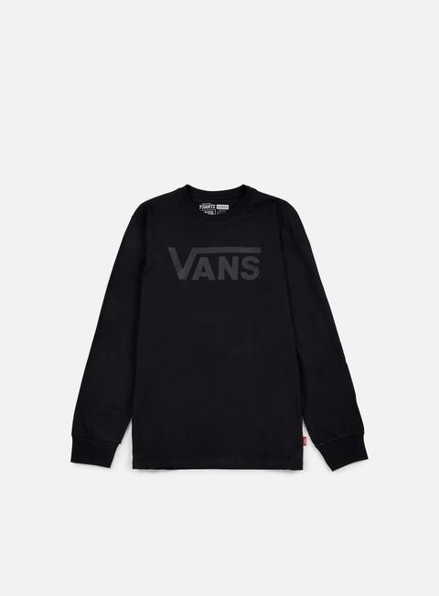 t shirt vans classic ls t shirt black black