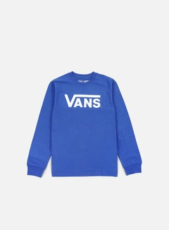 Vans - Classic LS T-shirt, Royal/Bright White
