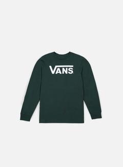Vans - Classic LS T-shirt, Vans Scarab/White