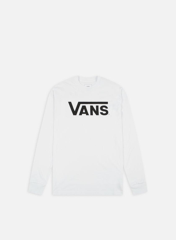 Vans - Classic LS T-shirt, White/Black