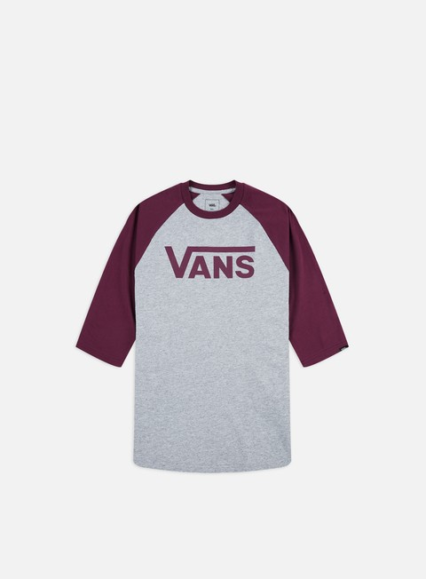 Outlet e Saldi T-shirt a Manica Corta Vans Classic Raglan T-shirt