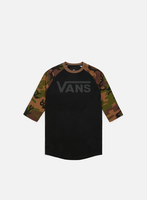 Sale Outlet Short Sleeve T-shirts Vans Classic Raglan T-shirt