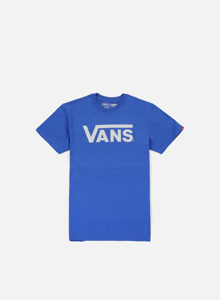Vans - Classic T-shirt, Royal/Bright White