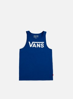 Vans - Classic Tank Top, True Blue/White