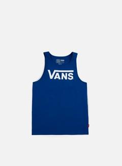 Vans - Classic Tank Top, True Blue/White