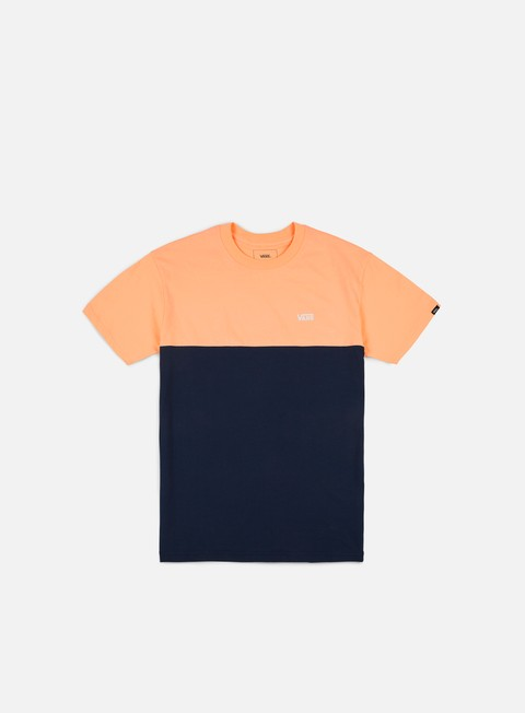 t shirt vans colorblock t shirt apricot ice dress blues