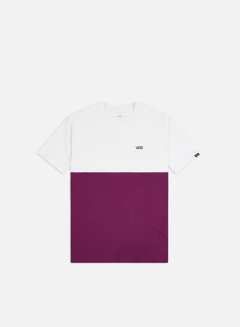 Sale Outlet Short Sleeve T-shirts Vans Colorblock T-shirt