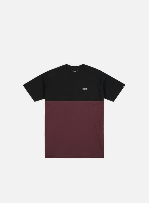 t shirt vans colorblock t shirt port royale black