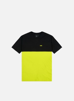 Vans - Colorblock T-shirt, Sulphur Spring/Black