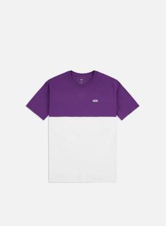 Vans - Colorblock T-shirt, White/Heliotrope