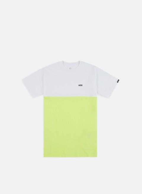 Outlet e Saldi T-shirt a Manica Corta Vans Colorblock T-shirt