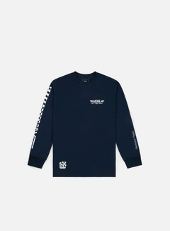 Vans - Crossed Sticks LS T-shirt, Navy