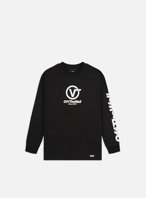 Outlet e Saldi T-shirt a Manica Lunga Vans Distorted Performance LS T-shirt