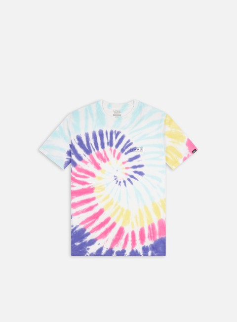 Short Sleeve T-shirts Vans Drop V Spiral Tie Dye T-shirt