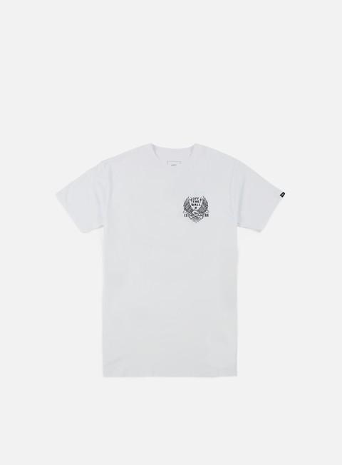 t shirt vans eagle bones t shirt white