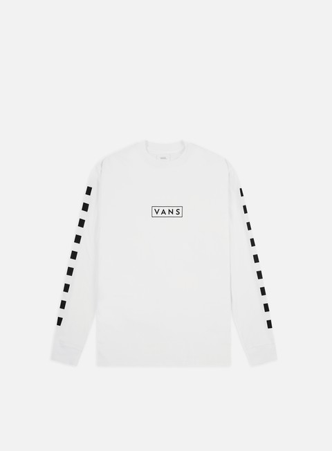 T-shirt a Manica Lunga Vans Easy Box Checker LS T-shirt