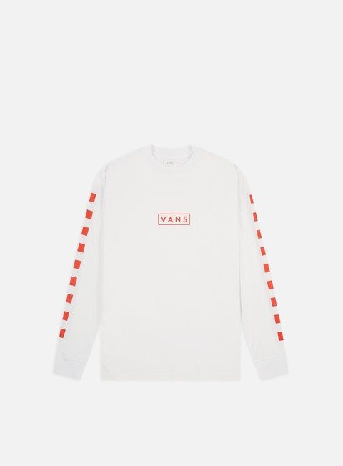 Long Sleeve T-shirts Vans Easy Box Checker LS T-shirt