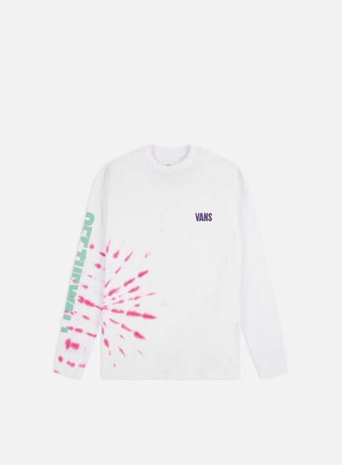 Long Sleeve T-shirts Vans Eyes Open Tie Dye LS T-shirt
