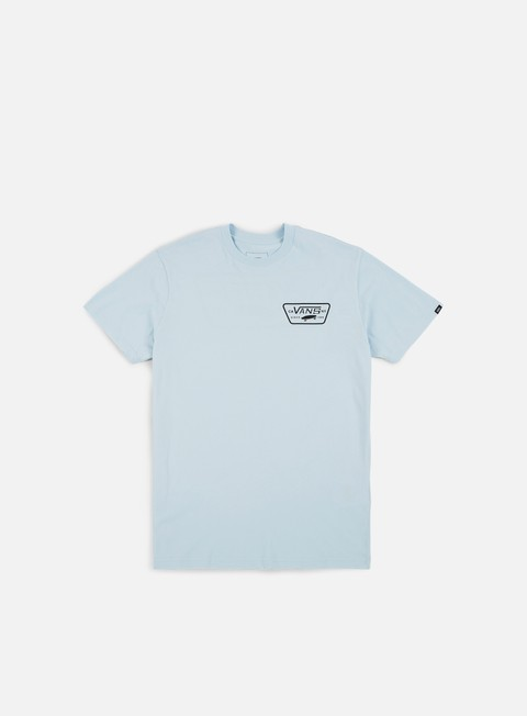 t shirt vans full patch back t shirt baby blue black