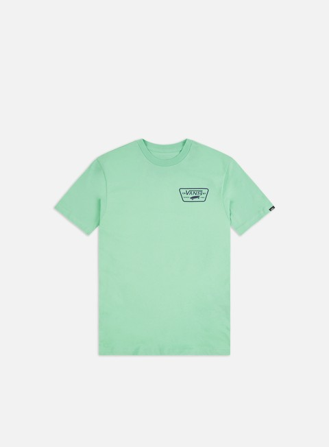 Short Sleeve T-shirts Vans Full Patch Back T-shirt