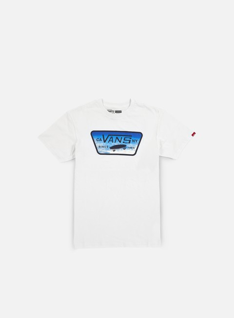 t shirt vans full patch fill t shirt white