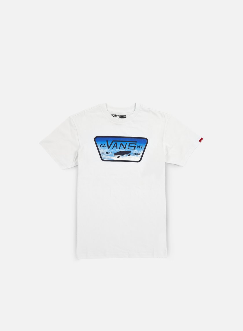 Vans - Full Patch Fill T-shirt, White