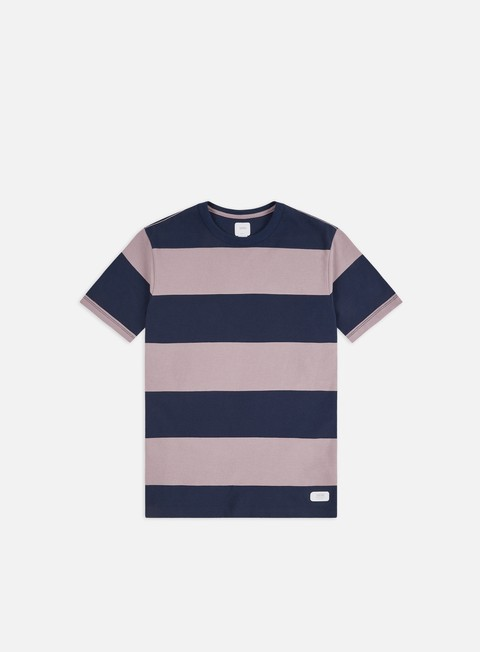 Sale Outlet Short Sleeve T-shirts Vans Gibson Stripe T-shirt
