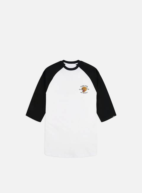 Long Sleeve T-shirts Vans Growler Raglan Baseball T-shirt