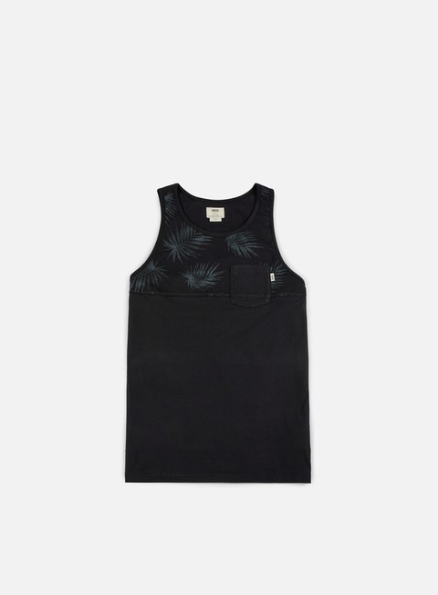 t shirt vans hilby tank top black