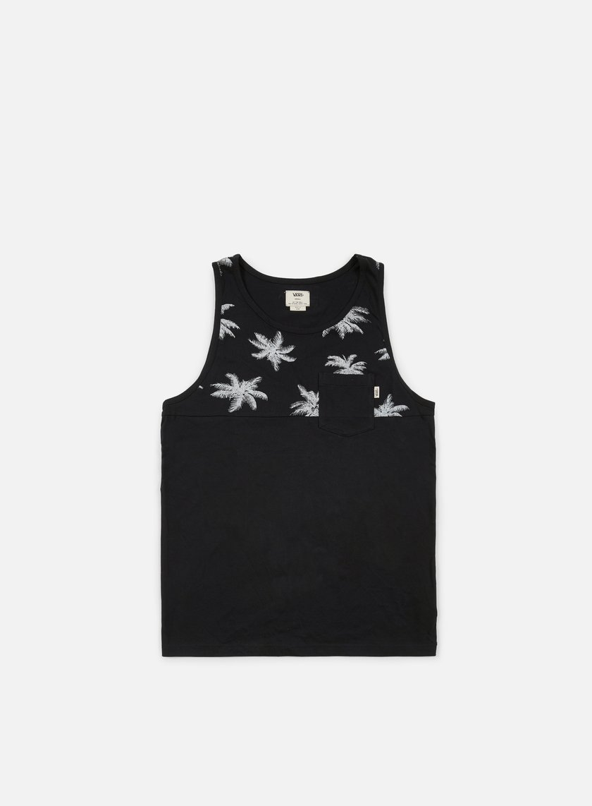 Vans - Hilby Tank Top, Black/White