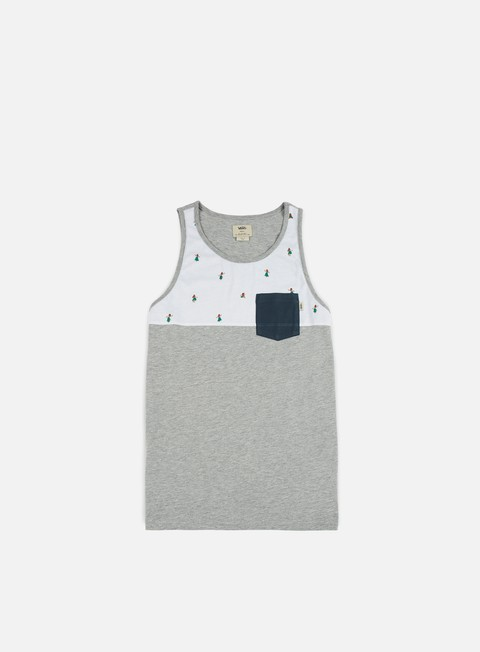 t shirt vans hilby tank top cement heather