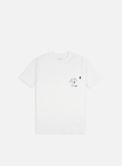 Outlet e Saldi T-shirt pocket Vans Love Waffle Vintage Overdye Pkt T-shirt