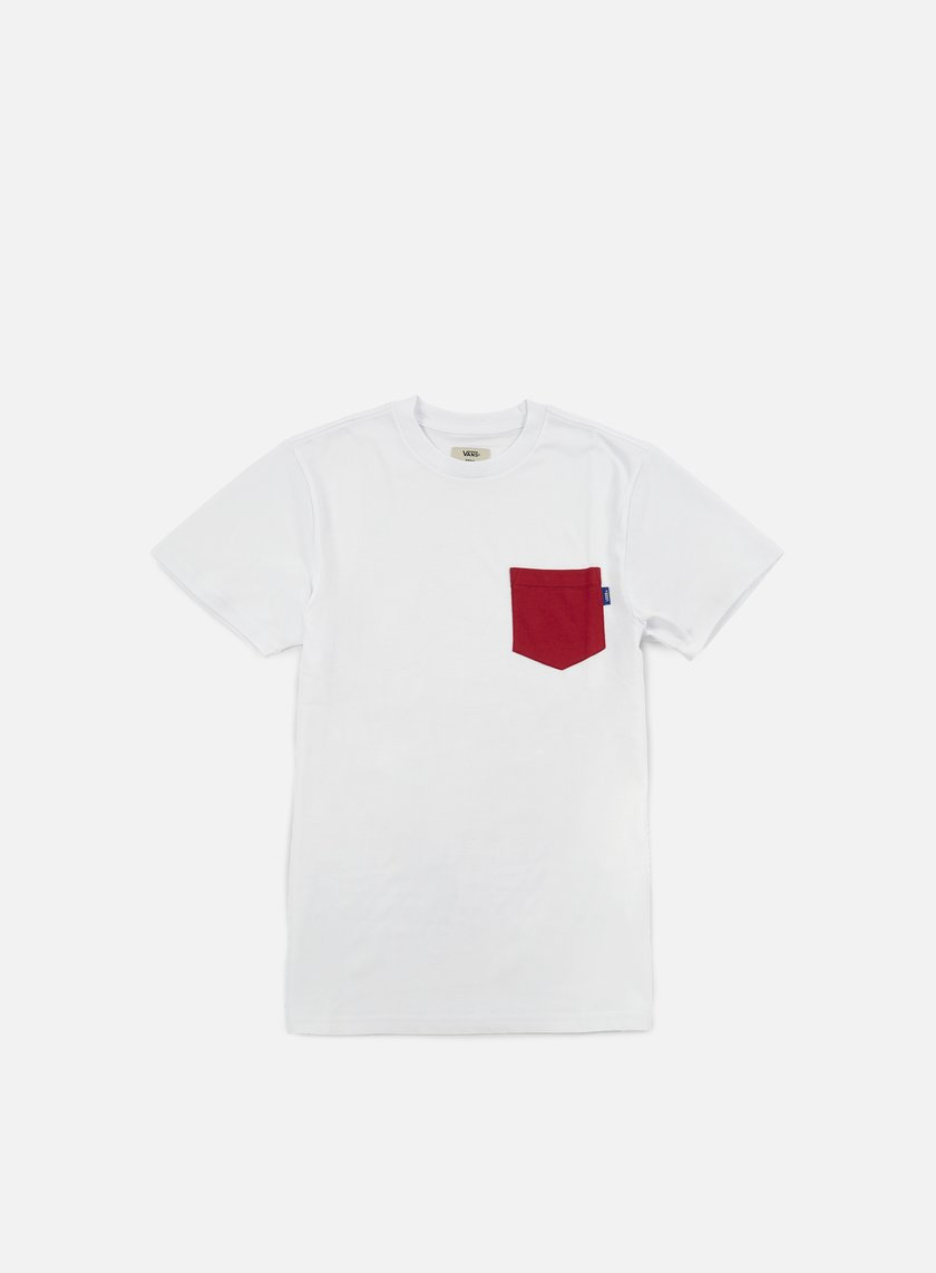 Vans - Mono Pocket T-shirt, Crimson